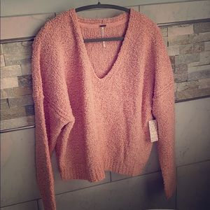 NWT Free People V-Neck Sweater ~ Feels Amazing!